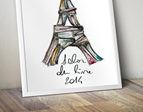 "Poster ""Salon du Livre 2014"" (proposal)"