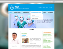 Centro de Salud Integral ZOE - Website