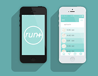 Run+ Application Concept