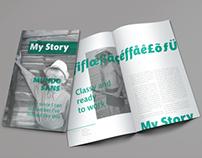 Mundo Sans Specimen—Typeface Project