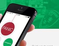 UI Design for Emergency Service Application