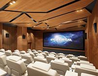 Movie theatre interior design / 2013