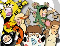 Caricaturas Moemon Parte 2 - The Zus