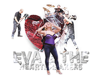 Eva &The Heartbreakers poster, vinyl and CD cover