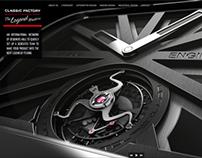 Classic Factory - Web Design - 2010