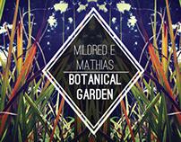 Mildred E. Mathias Botanical Garden Brochure Design