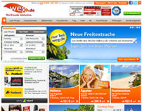 Weg.de - offerbox slider & search widget's