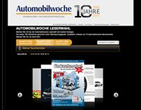 Automobilwoche - 10 years anniversary