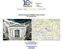 Automobilwoche - 10 years anniversary press congress
