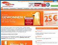 Weg.de - lottery page