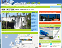 New7Wonders - Nature campaign