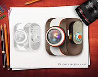Broun Camera Icon