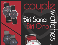 So CHIC...time Couple Watches