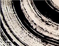 Zen Brushwork in Contemporary Lettering Design