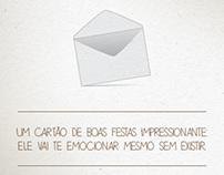 Cartão de Boas Festas - GAC
