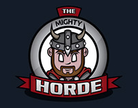 """The Horde"" Logo + Character Development"