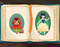 storybook mini game