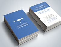 Osteopathie Identity Business card