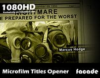 Microfilm Titles Opener
