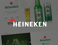 HEINEKEN UK redesign