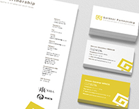 Gardner Partnership - Identity and webdesign
