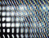 AIGA MEETING POSTER