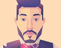 Photoshop Creative Magazine: Self Portrait