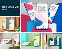 S21 Ultra V.2 Mockup
