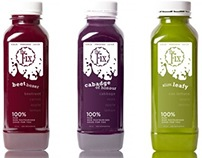 Concept: The Fix Cold Pressed Juice