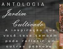 Livro Jardim Cultivado- Antologia