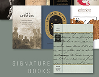 Signature Books ads