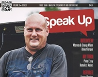 Speak Up Magazine: Layout and Design