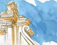 Urban sketching - Palermo