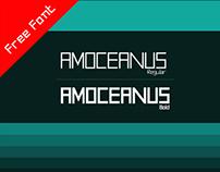 AMOceanus - Free Font Download - Regular & Bold
