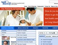 North Shore LIJ Hospital Website