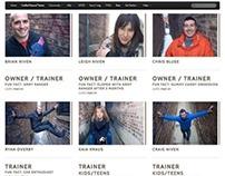 CrossFit  | Responsive Web | Print | E-Mail | Social