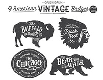 American Vintage Badges Part Two