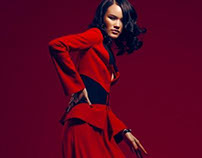 """Crimson"" for Atlas Winter 2013"