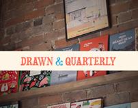 Drawn & Quarterly   Website redesign