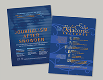 Columbia Journalism School Poster
