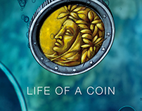 Life as a coin, animated short  film