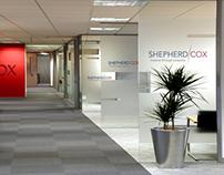 Shepherd Cox Logo Identity Specifications