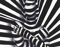 Girl in Stripes / Artwork