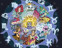 Calendario Signos del Zodiaco 2014