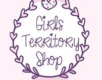 Визитка для интернет-магазина Girls Territory