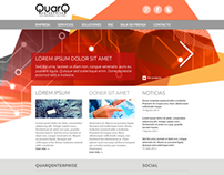 Web de aQuarq y QuarEnterprise