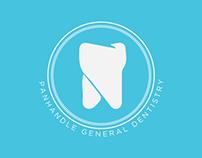 Panhandle General Dentistry Branding & Web Design.