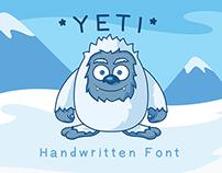 Yeti - Hand Drawn Font
