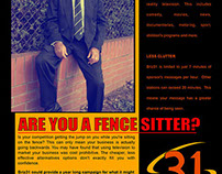 Briz31 Community TV Print Ad Graphic Design