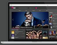 Telekom TVGO redesign concept